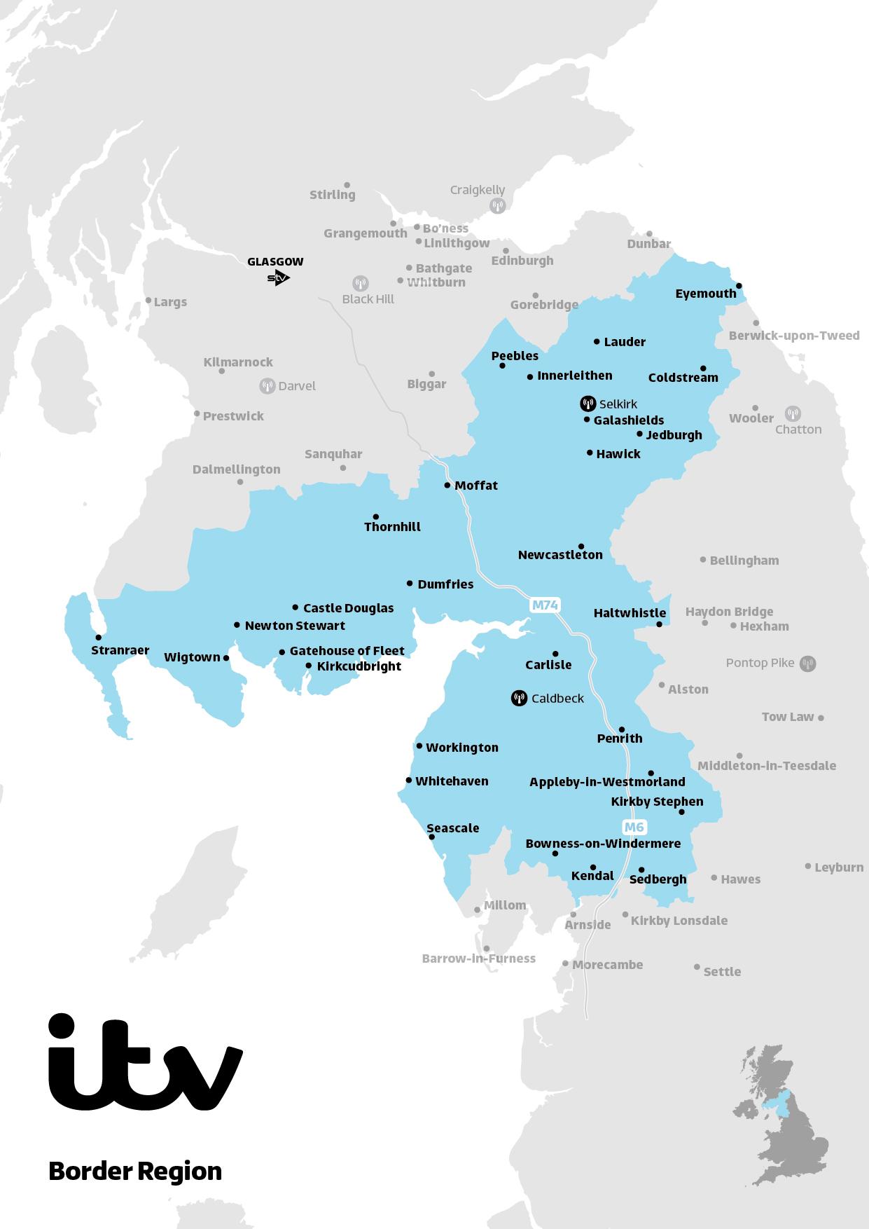 Border map 2019